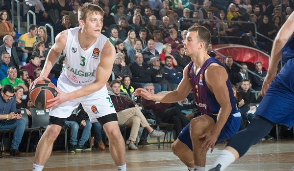 Zalgiris: Wolters sidelined by groin injury