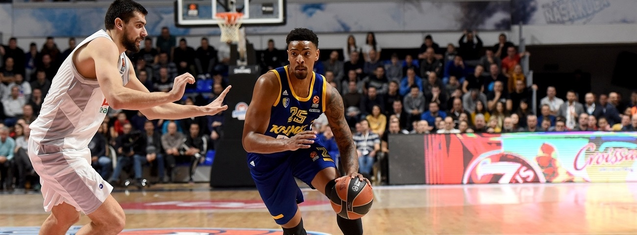 Mickey lifted Khimki back into the race