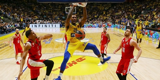 Black boosted Maccabi in crucial win