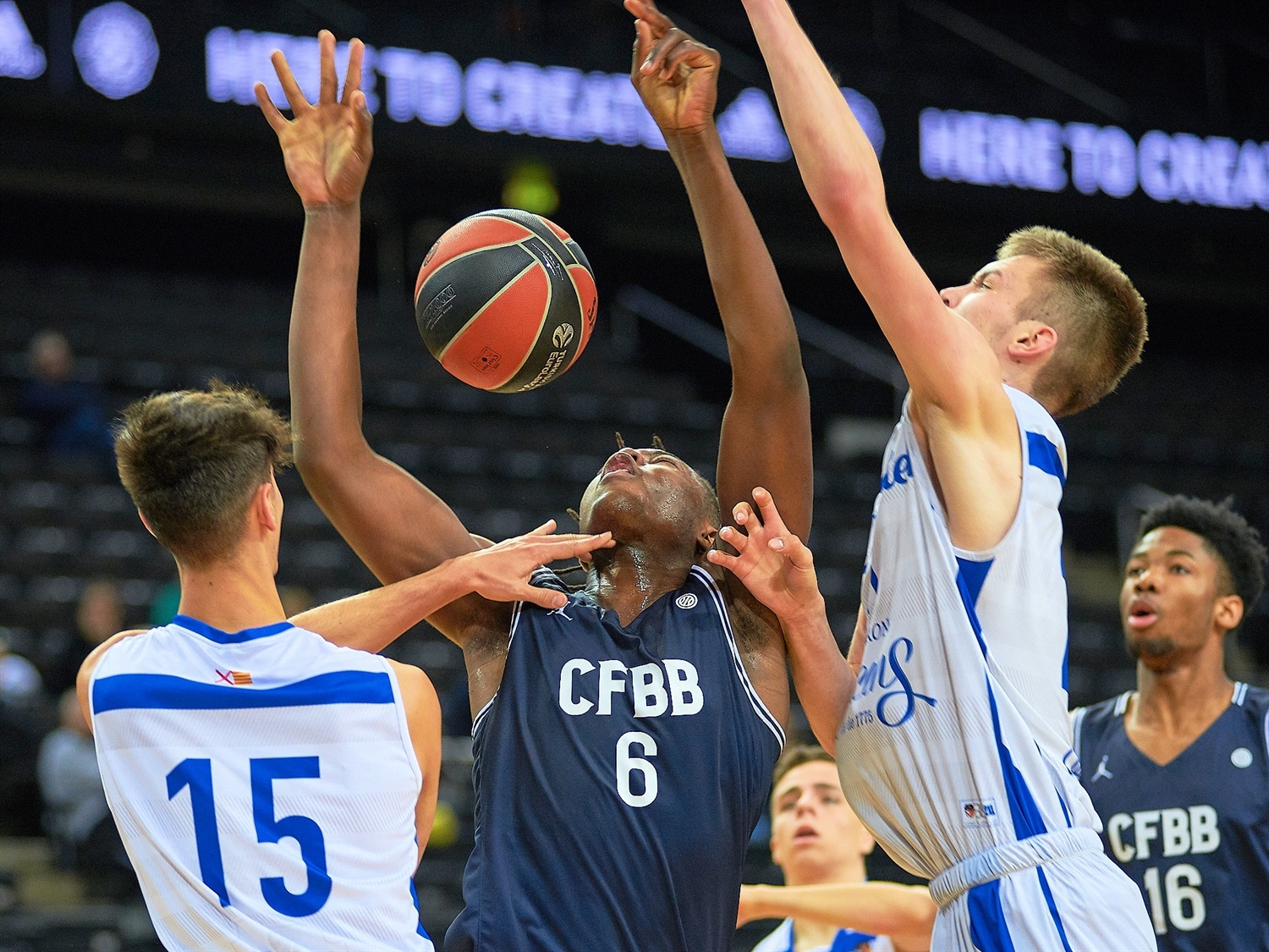 Yvan Ouedraogo - U18 CFBB Paris (photo Zalgiris) - JT18