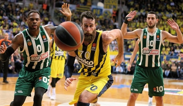 RS Round 22 report: Fenerbahce destroys Panathinaikos to seal playoffs berth