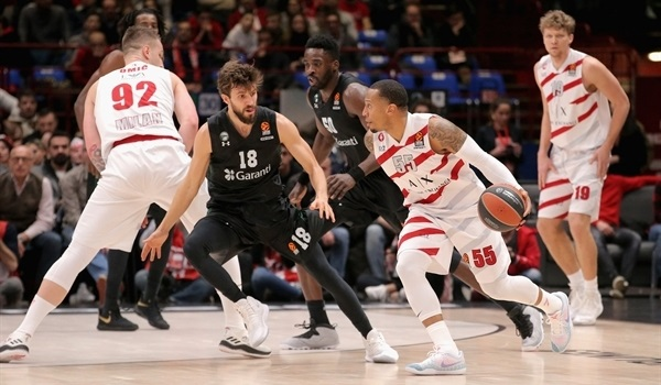 RS Round 22 report: Kuzminskas, Jerrells lead Milan to home win