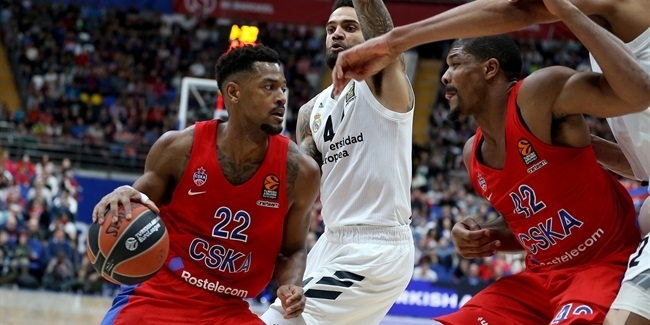 Higgins returned, saved the day for CSKA