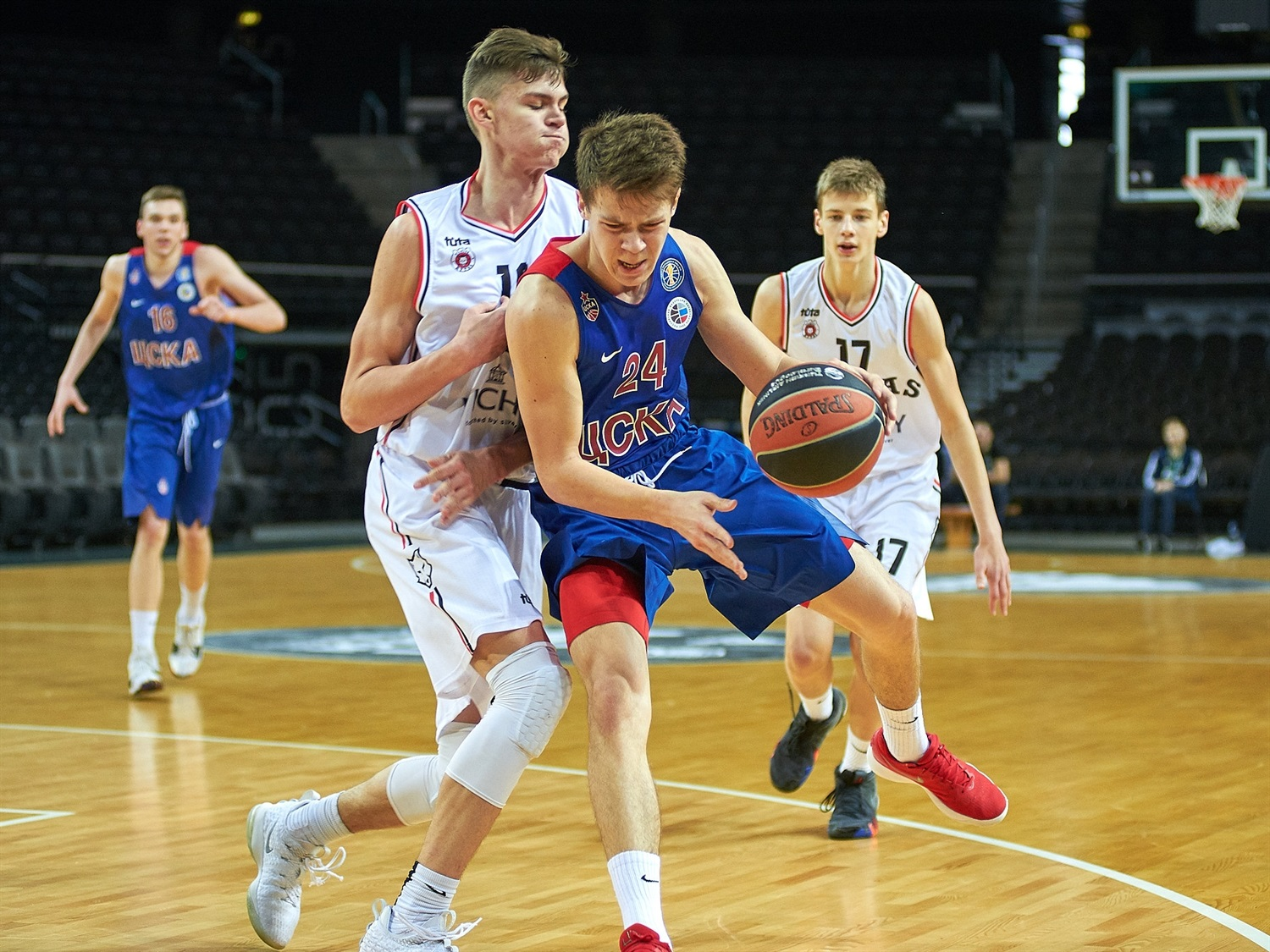 Denis Kovalev - U18 CSKA Moscow (photo Zalgiris) - JT18