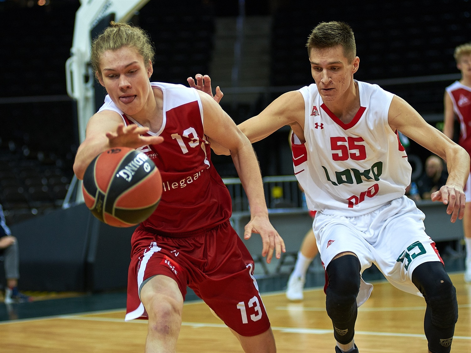 Linus Gron - U18 DBA Copenhagen (photo Zalgiris) - JT18