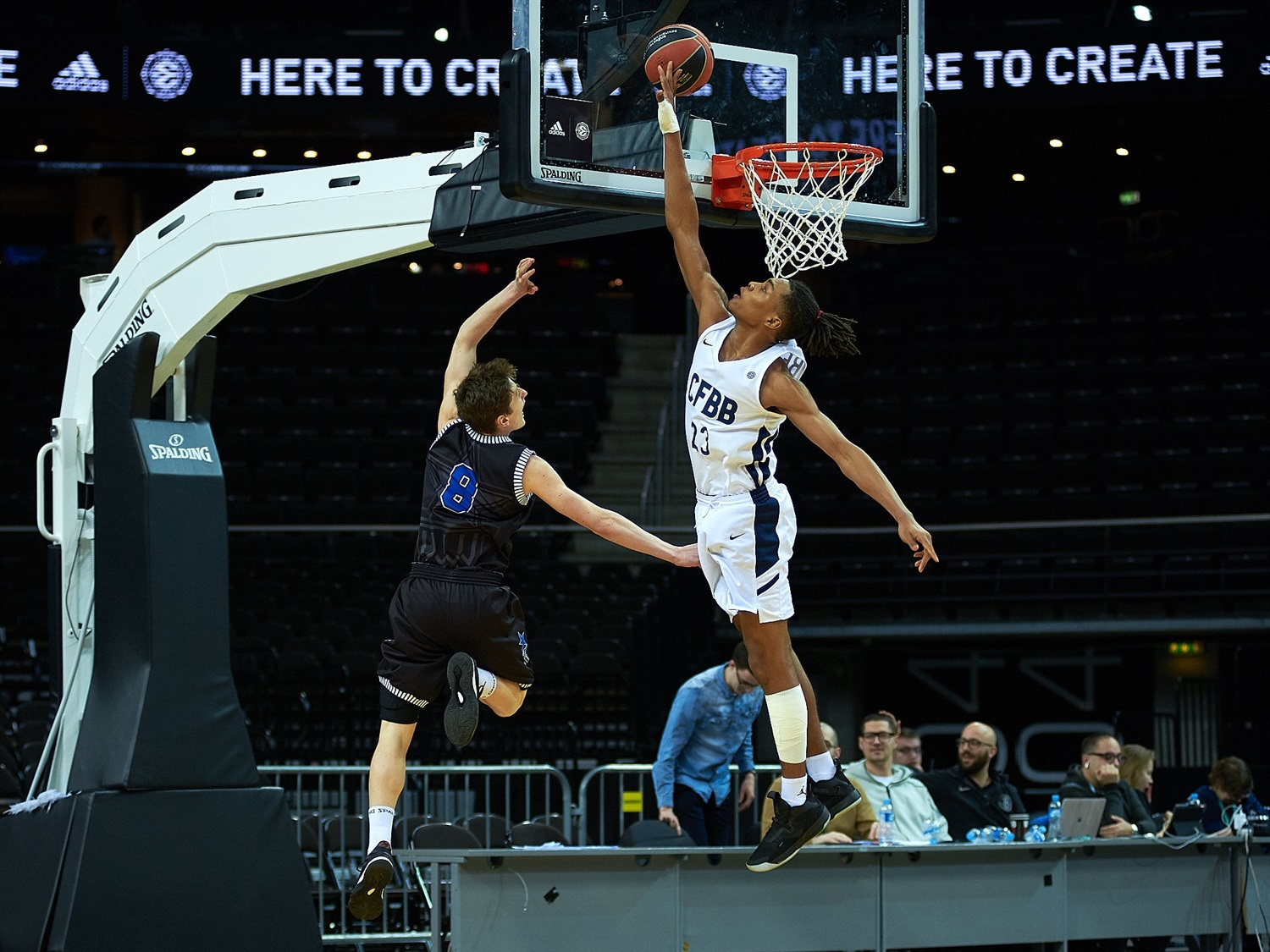 Juhann Begarin - U18 CFBB Paris (photo Zalgiris) - JT18