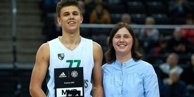 Kriisa named MVP of ANGT Kaunas