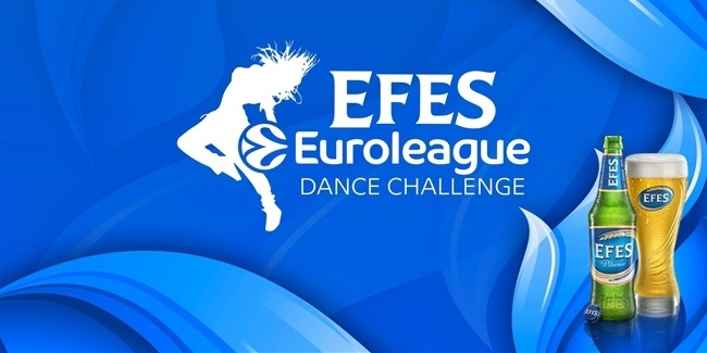 Vote now in the EFES Euroleague Dance Challenge!