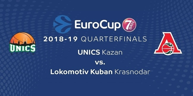 Series Breakdown, Quarterfinals: UNICS Kazan vs. Lokomotiv Kuban Krasnodar