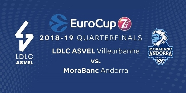 Series Breakdown, Quarterfinals: LDLC ASVEL Villeurbanne vs. MoraBanc Andorra