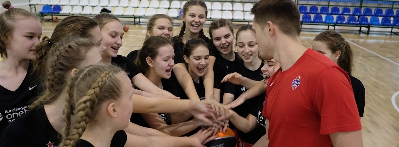 CSKA encourages girls to dream big with One Team