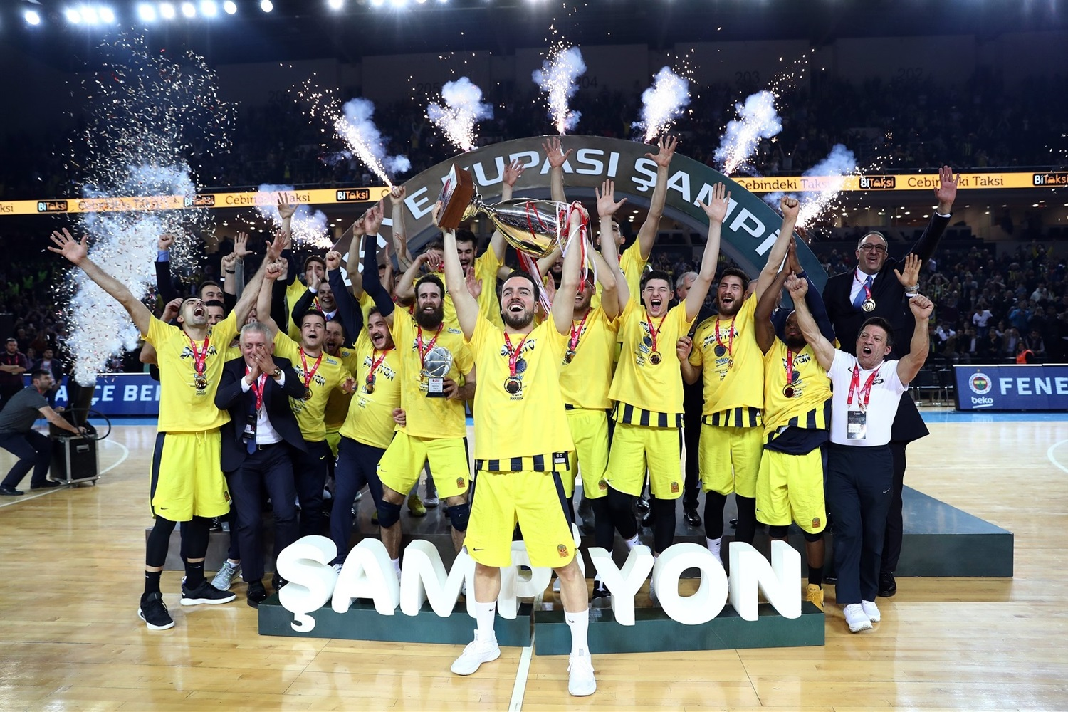 Fenerbahce wins 2019 Turkish Cup