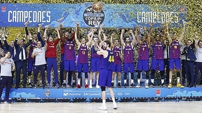 National cups: Barcelona, Fenerbahce and Panathinaikos win titles