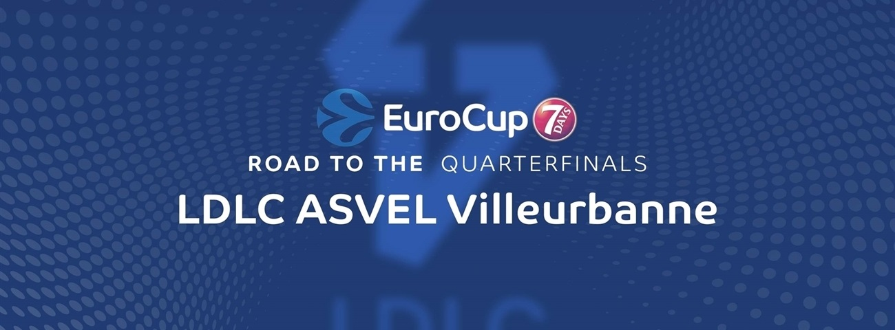 Road to the quarterfinals: LDLC ASVEL Villeurbanne