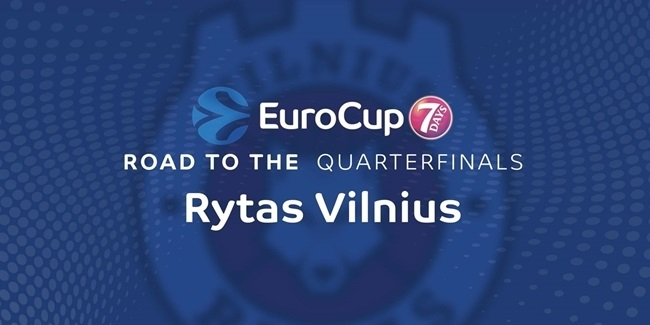 Road to the quarterfinals: Rytas Vilnius