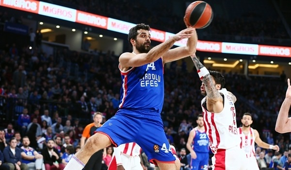 RS Round 23 report: Efes turns back Olympiacos with defense