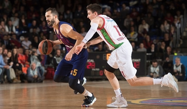 RS Round 23 report: Red-hot Barcelona routs Baskonia