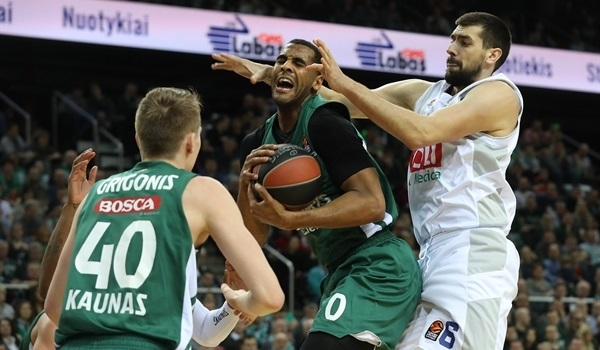 RS Round 23 report: Zalgiris takes crucial win over Buducnost