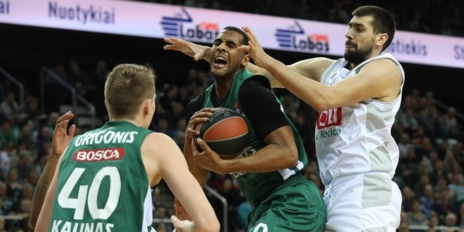 Domestic league playoffs: Big run fuels Zalgiris to victory
