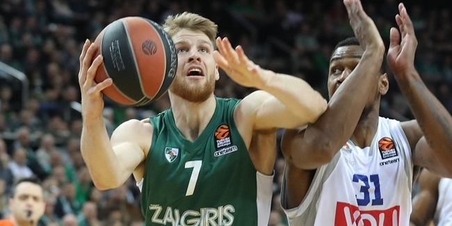 Thomas Walkup, Zalgiris: 'We have to give everything'