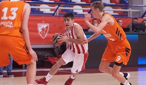 Olympiacos fend off Cedevita for first win