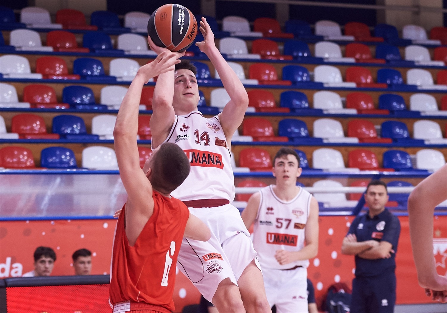 Davide Casarin - U18 Umana Reyer Venice - ANGT Belgrade 2019 (photo Dragoslav Zarkovic - Zvezda) - JT18