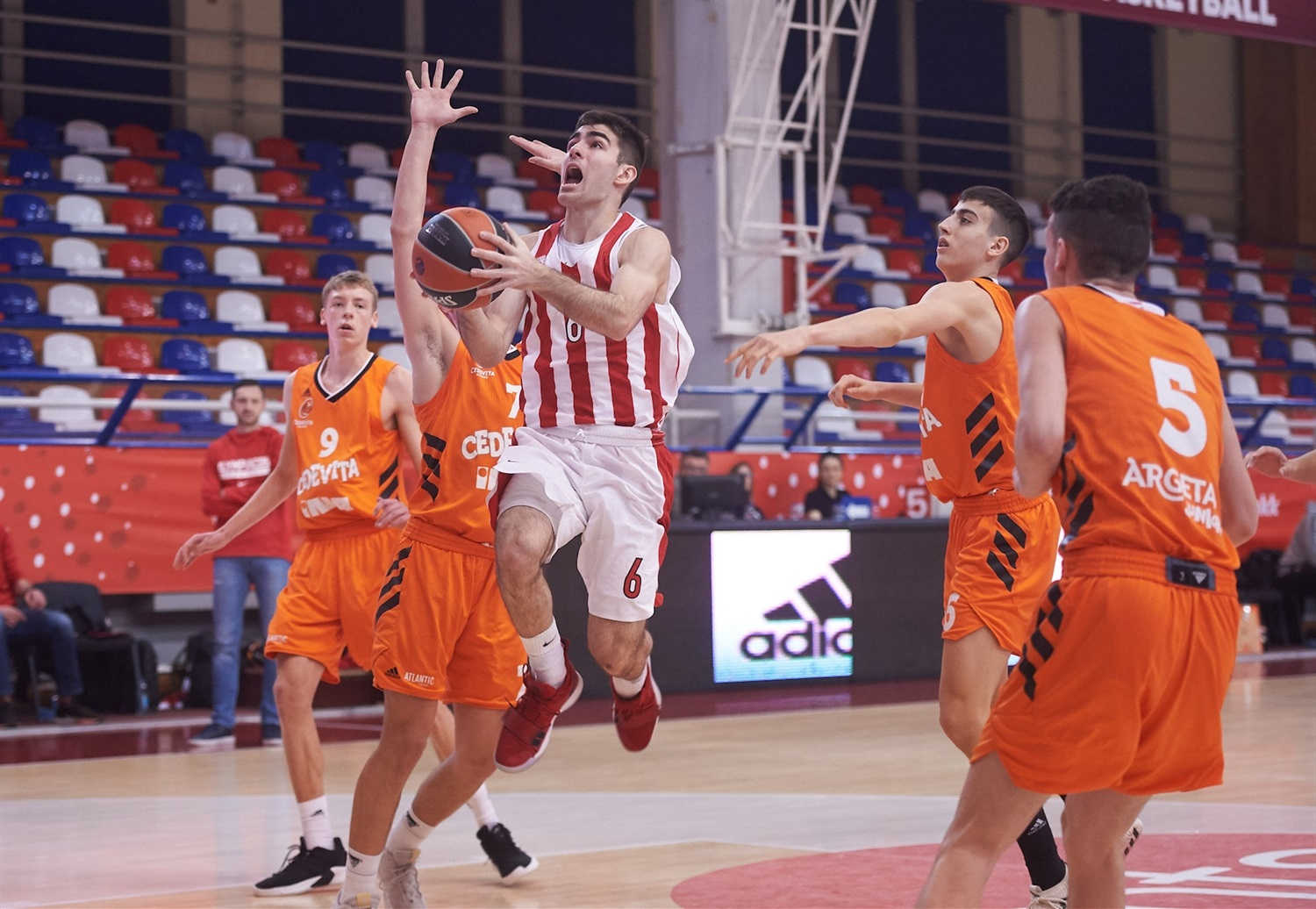 Iosif Koloveros - U18 Olympiacos Piraeus - ANGT Belgrade 2019 (photo Dragoslav Zarkovic) - JT18