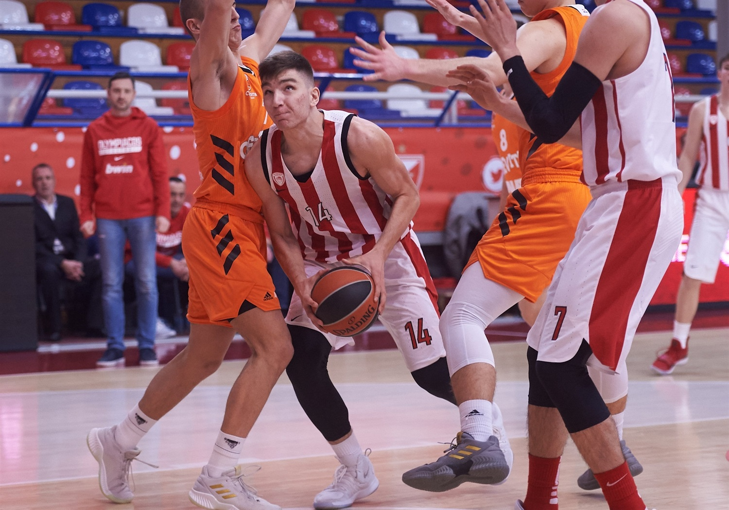 Thomas Zevgaras - U18 Olympiacos Piraeus - ANGT Belgrade 2019 (photo Dragoslav Zarkovic) - JT18