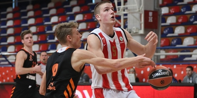 Zvezda re-signs forward Pavicevic