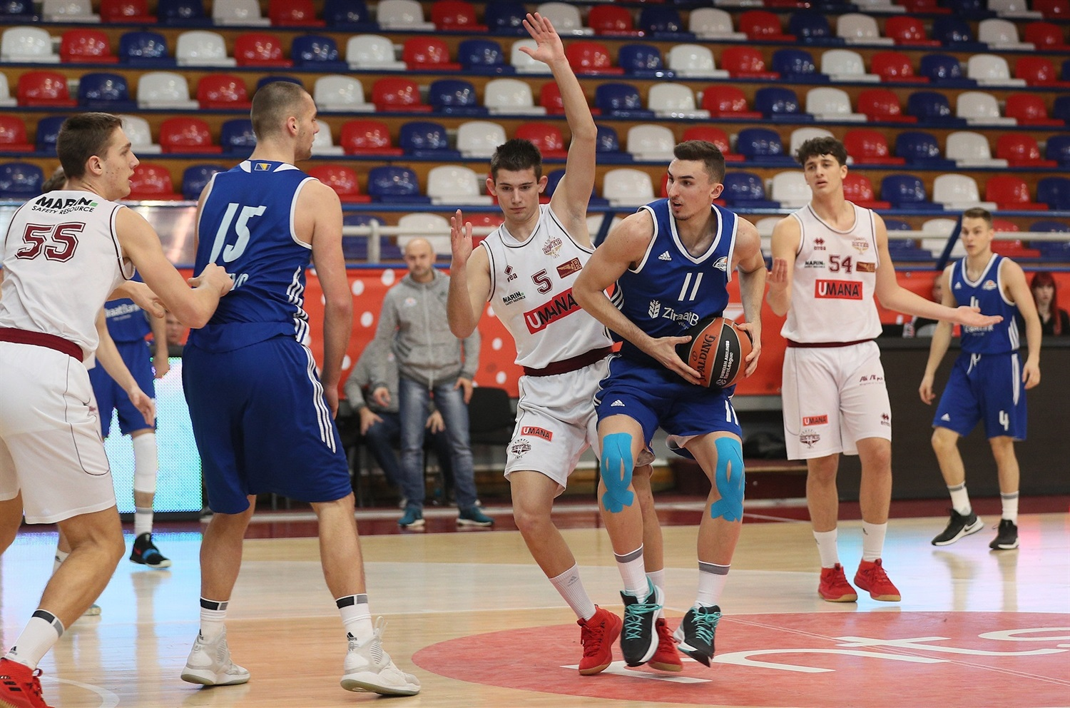 Deni Radak - U18 Spars Sarajevo - ANGT Belgrade 2019 (photo Dragoslav Zarkovic) - JT18