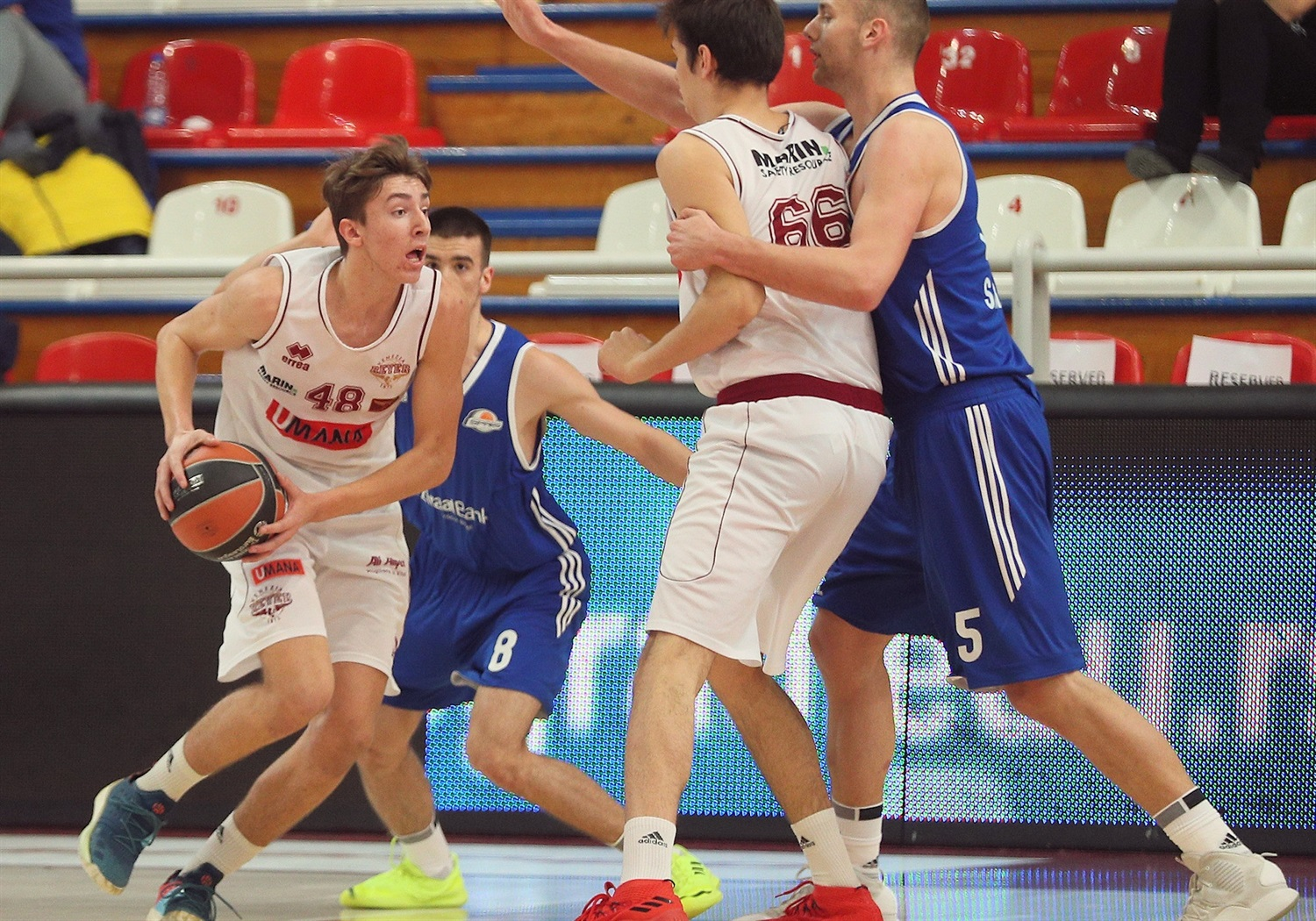 Leonardo Biancotto - U18 Umana Reyer Venice - ANGT Belgrade 2019 (photo Dragoslav Zarkovic) - JT18