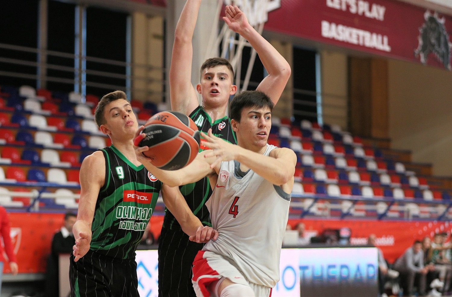 Ilias Moraitis - U18 Olympiacos Piraeus - ANGT Belgrade 2019 (photo Dragoslav Zarkovic) - JT18