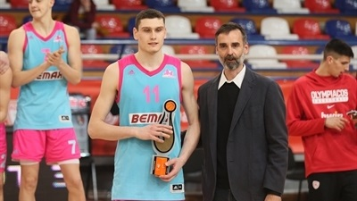 Mega Bemax forward Langovic named ANGT Belgrade MVP