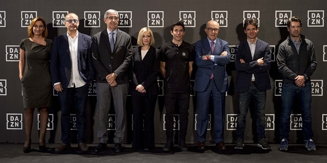 Euroleague Basketball helps welcome DAZN to Spain