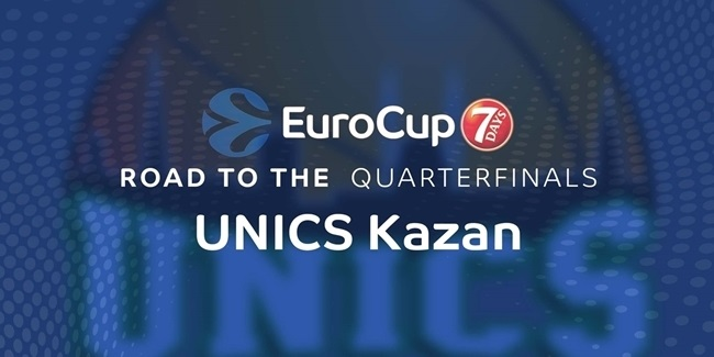 Road to the Quarterfinals: UNICS Kazan