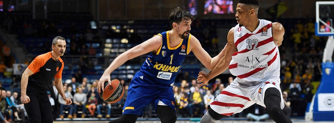 Shved's stellar return not enough for Khimki