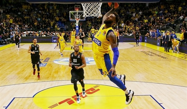 RS Round 24 report: Maccabi cruises past Darussafaka