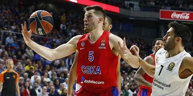 Alec Peters, CSKA: 'We are right where we want to be'