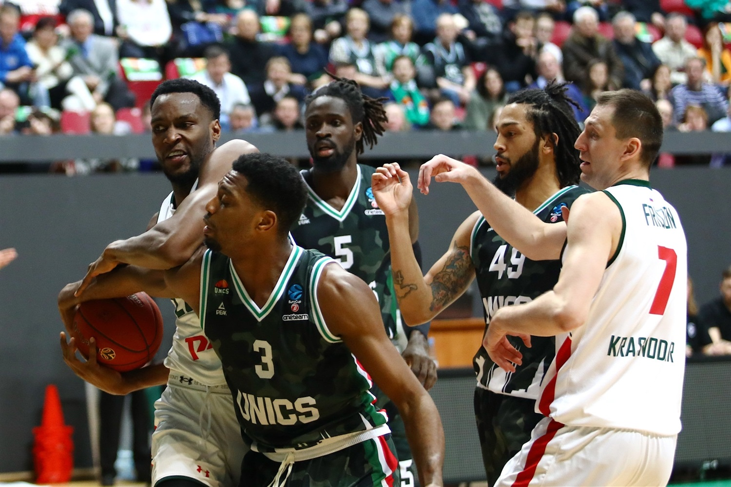 JaJuan Johnson - Lokomotiv Kuban Krasnodar (photo UNICS) - EC18