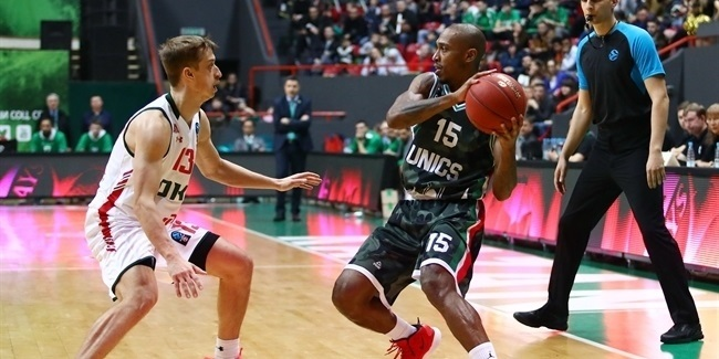 7DAYS EuroCup, Quarterfinals Game 1: UNICS Kakan vs. Lokomotiv Kuban Krasnodar