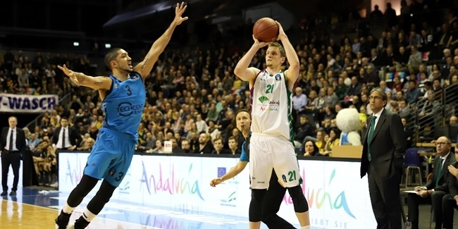 "Adam Waczynski, Unicaja: ""We are going to Berlin to fight"""