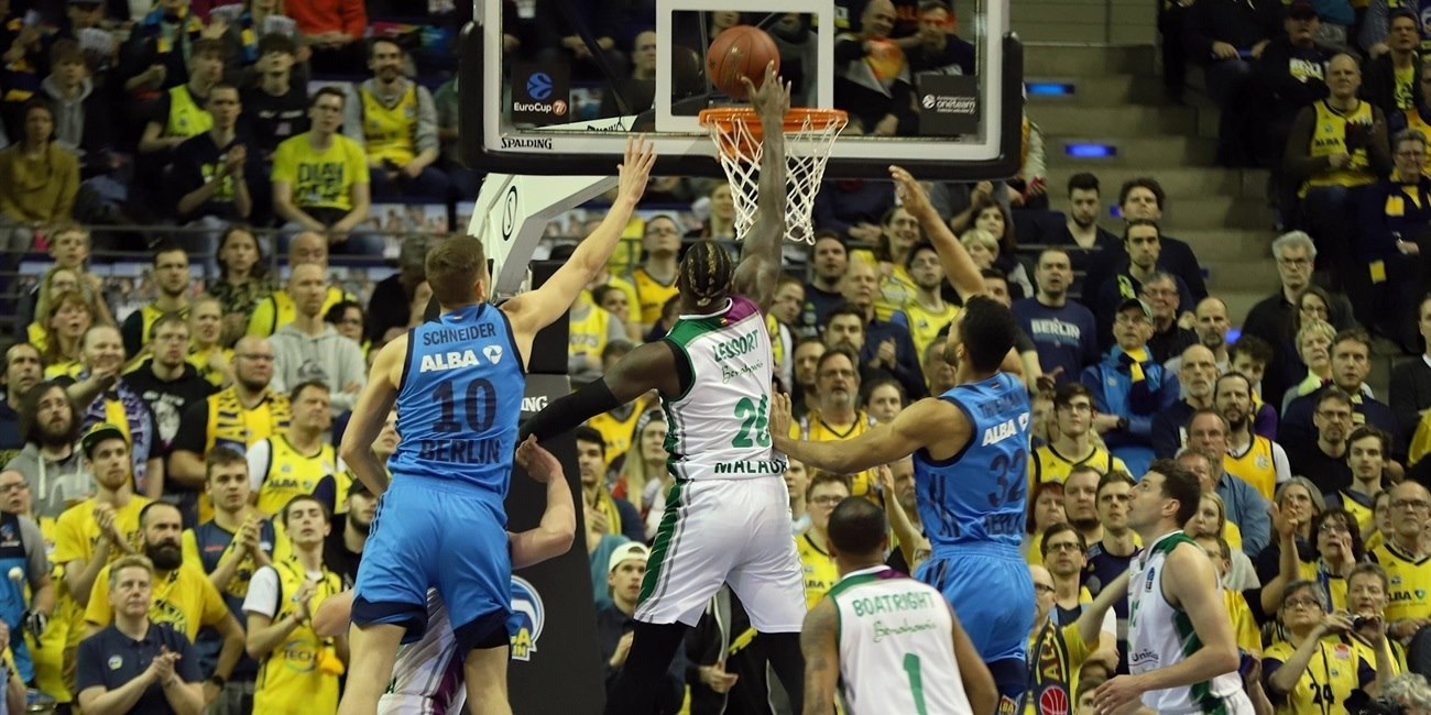 Mathias Lessort - Unicaja Malaga (photo Andreas Knopf - ALBA) - EC18