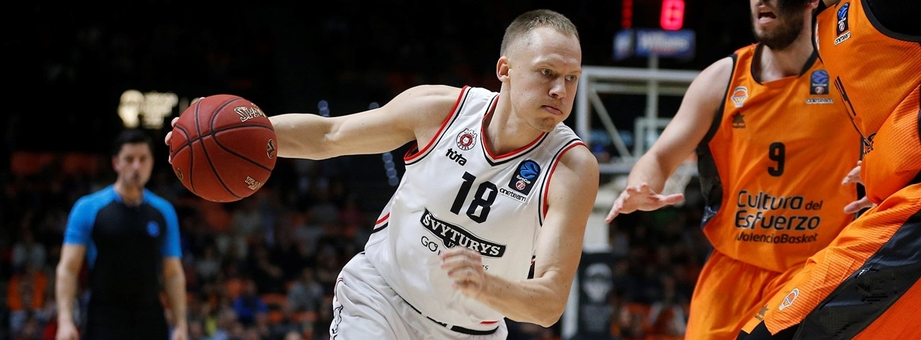 Rytas re-signs guard Girdziunas for 2 more years