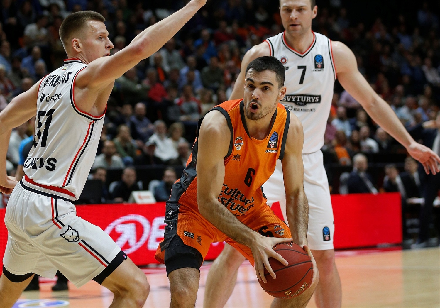 Alberto Abalde - Valencia Basket (photo Miguel Angel Polo - Valencia) - EC18