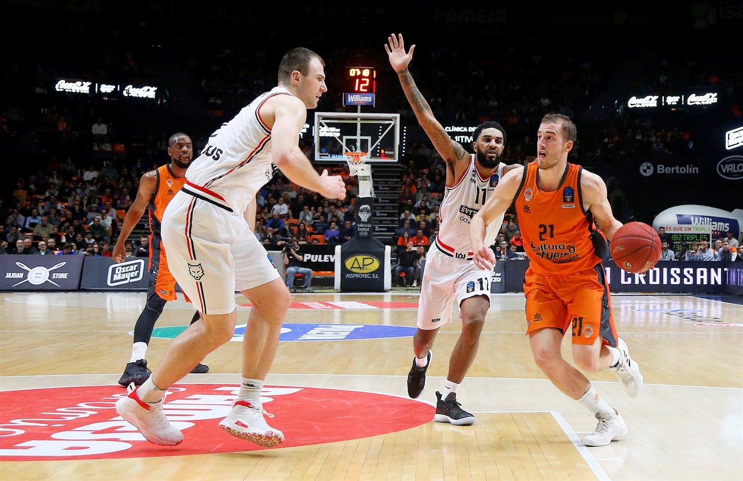 Matt Thomas - Valencia Basket (photo Miguel Angel Polo - Valencia) - EC18