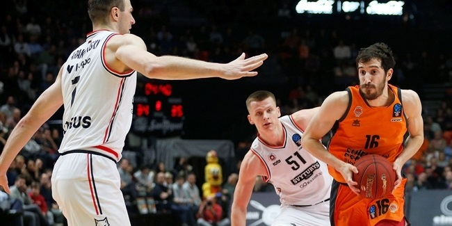 7DAYS EuroCup, Quarterfinals Game 1: Valencia Basket vs. Rytas Vilnius