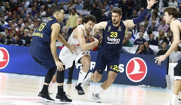 RS Round 25 report: Llull, Tavares lead Madrid past Fenerbahce