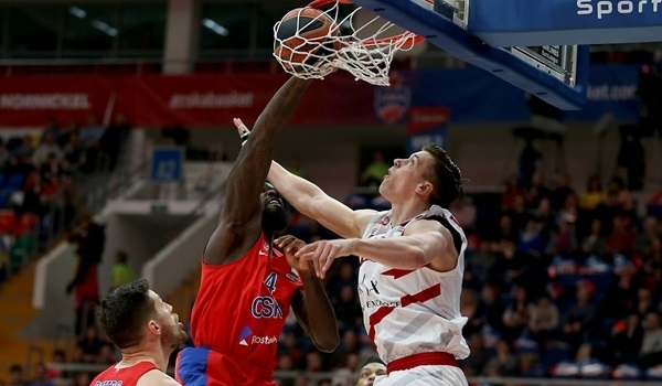 RS Round 25 report: CSKA sinks Milan for home-court advantage