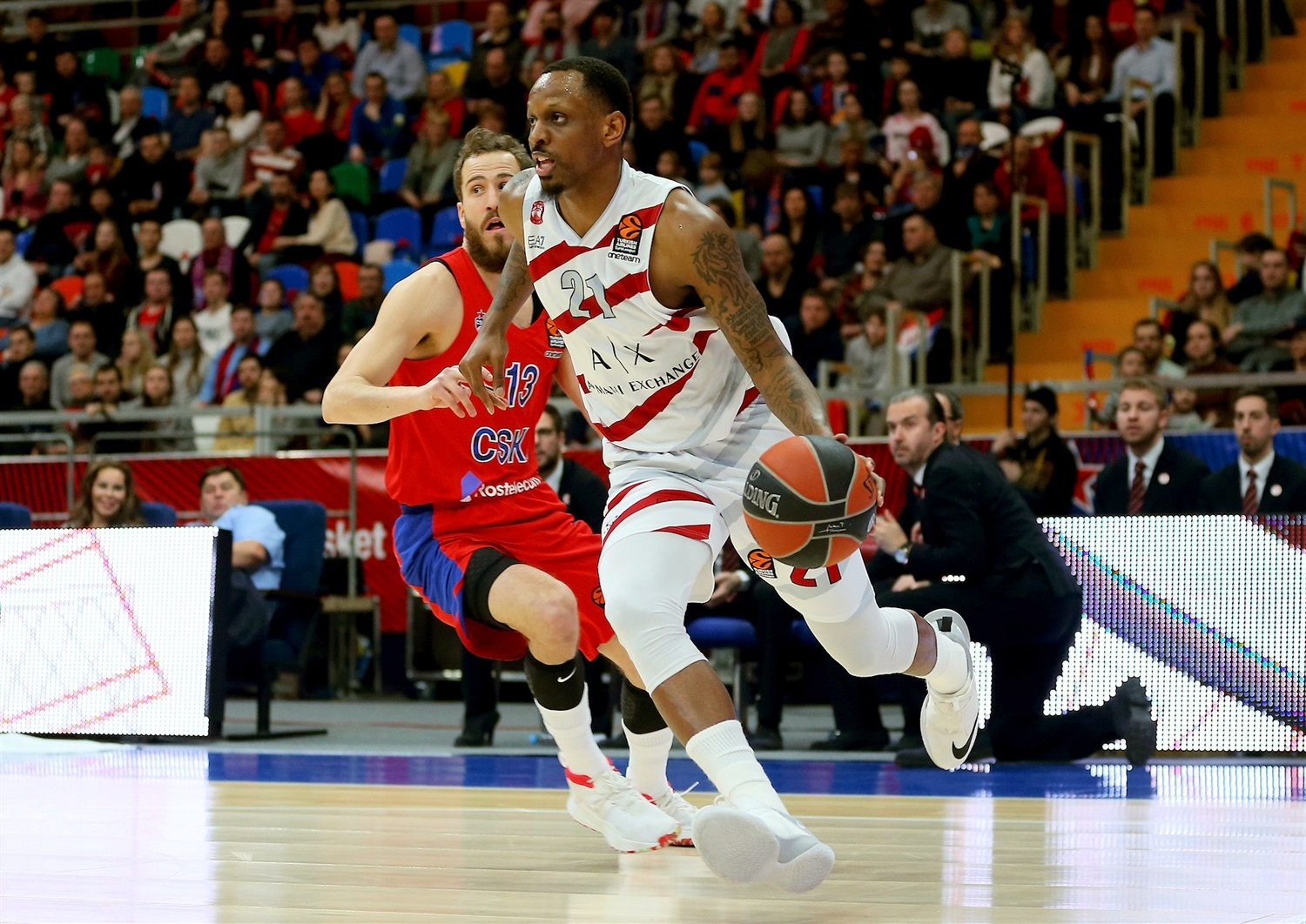 James Nunnally - AX Armani Exchange Olimpia Milan - EB18