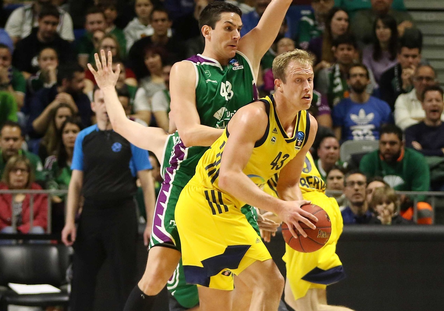 Luke Sikma - ALBA Berlin (photo Mariano Pozo - Unicaja) - EC18